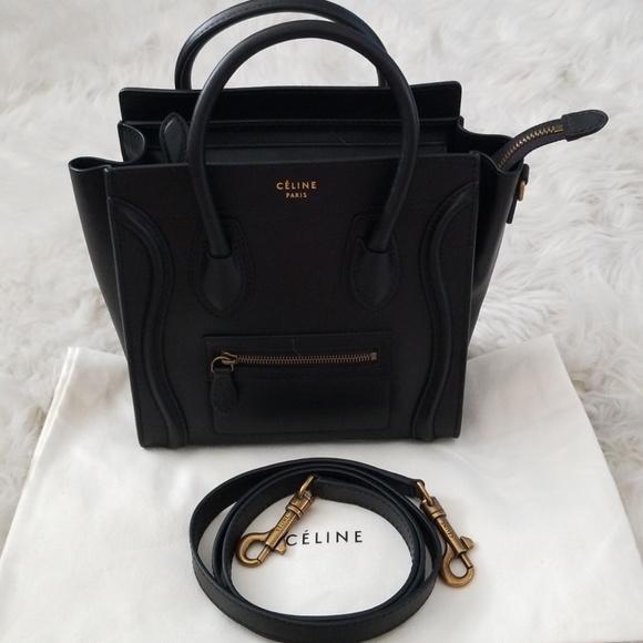 280d64e7cf Celine Handbags - 💯Authentic Celine Nano Luggage Crossbody